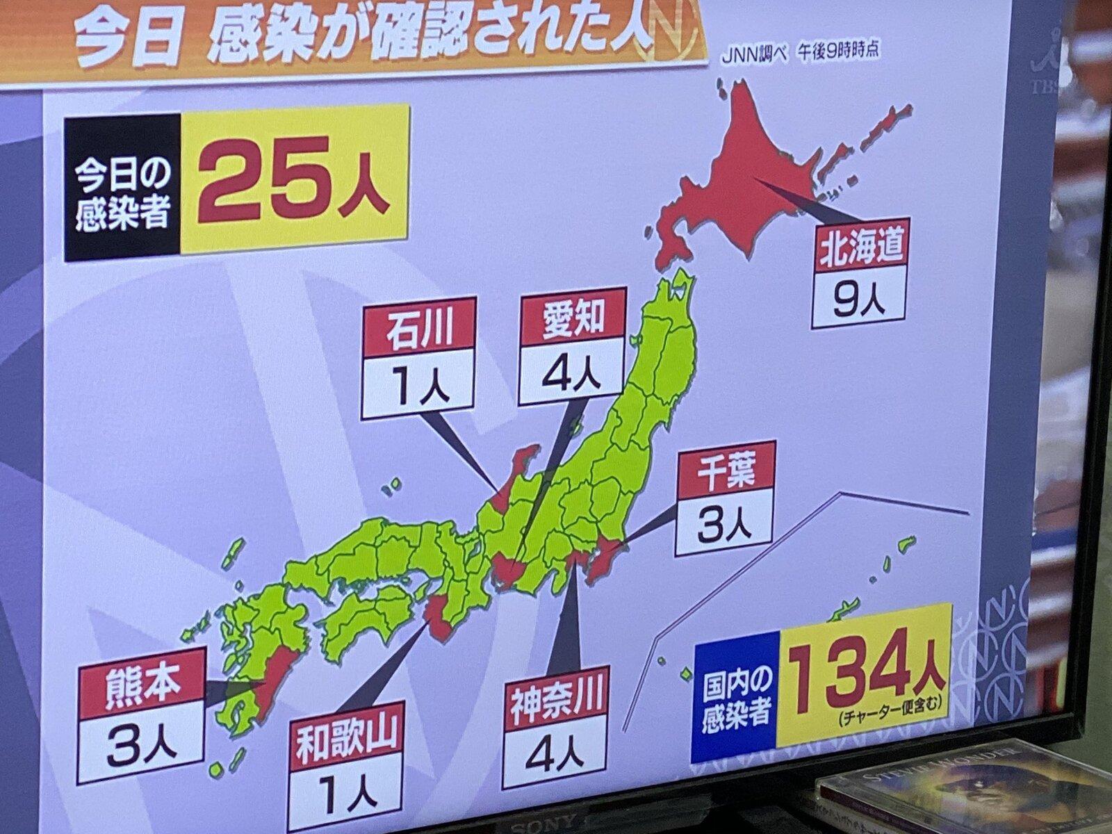 TBSさん、熊本の位置を間違えてしまう・・・