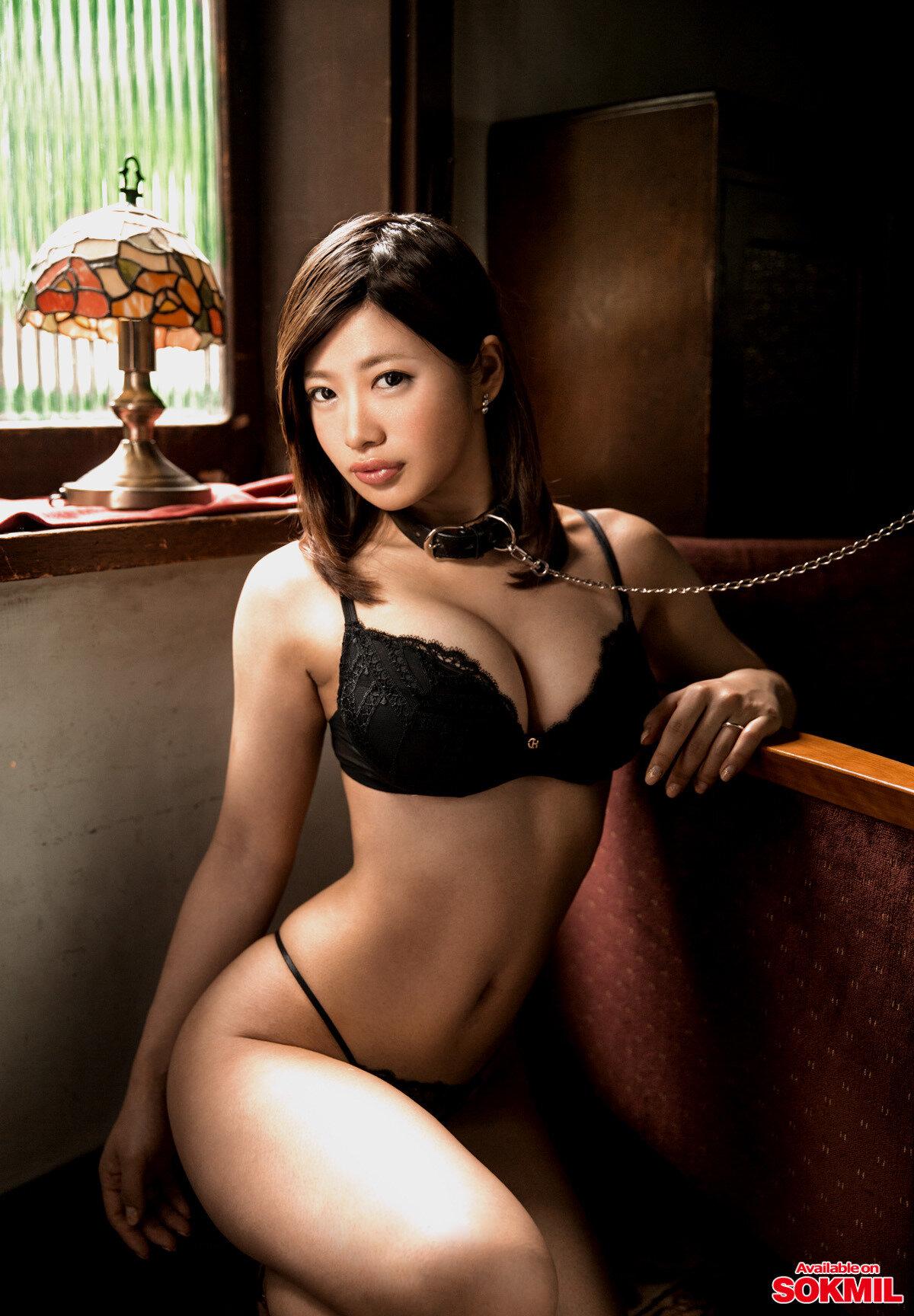 【画像あり】唇が1番エッチなAV女優、宮下真衣に決定する