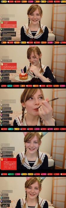 【画像あり】オランダ美人YouTuber、笑顔が止まらない