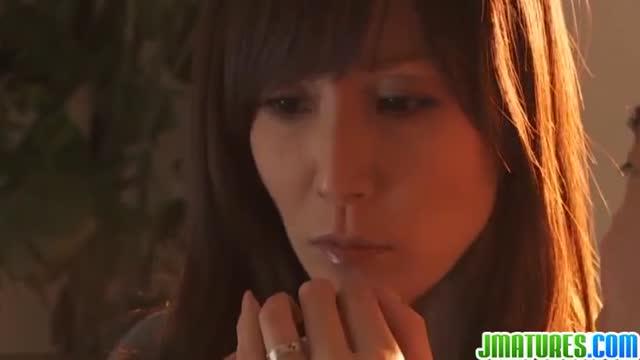 熟女≫澤村レイコ  綺麗なオッパイ人妻息も絶え絶え