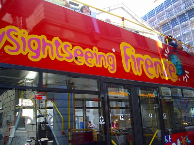 フィレンツェ観光バス