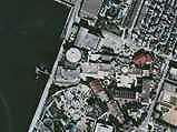 1974(昭和49)年:船橋浜町・ららぽーとホテルサンガーデン・喜翁閣(国土画像情報)