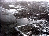 1957(昭和32)年:船橋市浜町近辺の航空写真