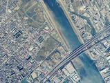 1992年:市川市・行徳富士(国土交通省国土地理院)