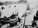 1958(昭和33)年ごろ:海老川河口