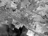 1947(昭和22)年:東京建鐵株式会社(日本建鐵株式会社)創立当時の航空写真(国土交通省国土地理院)