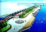 1998年:船橋市・船橋港・海岸環境整備事業完成予想図-DSC08470