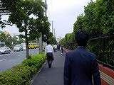 20040831-船橋市・南船橋駅から京成競馬場前駅へ歩く人々-DSC09264