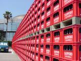 サッポロビール千葉工場ビールケース