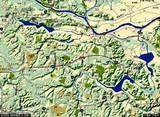 千葉県印西市・千葉ニュータウン中央駅・広域地図