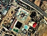 昭和49年:習志野市谷津・谷津遊園・航空写真
