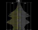 1998年10月01日:船橋市年齢別性別人口ピラミッド