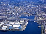 船橋市日の出2・浜町2・航空写真