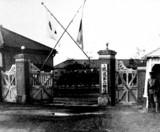 1932(昭和07)年:鉄道第二連隊営門-DSC08984
