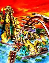 20050721オープン:東京ディズニーシー・新アトラクション・レイジングスピリッツ