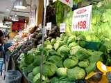 船橋市本町7・イトーヨーカドー・野菜価格・キャベツ-20041106-DSC00583