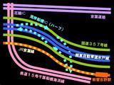 東関東自動車道・湾岸船橋IC・接続予想図
