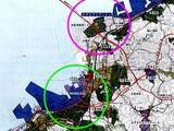 かずさアクアシティの位置及び周辺関連図