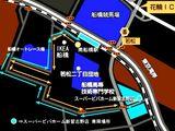 スーパービバホーム新習志野店・南船橋駅方面バスルート