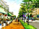 津田沼駅南口再開発・都市計画道路3.4.8号線のイメージ図010