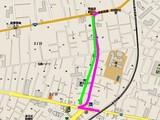 船橋市西前原2・戸田建設・下水道工事ミス・地図038