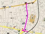 船橋市西前原2・戸田建設・下水道工事ミス・地図037