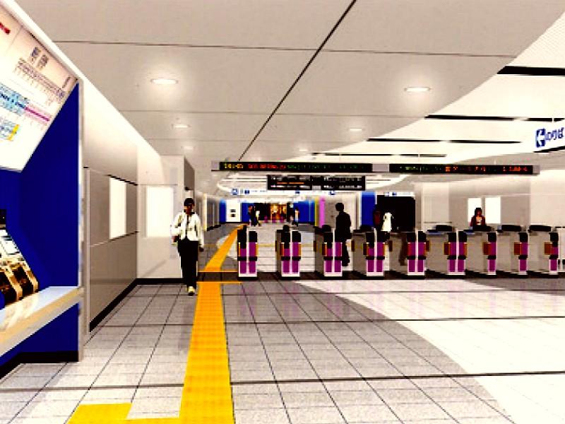 20070805-京成本線・京成船橋駅・コンコース010 京成本線の海神駅-船橋競馬場駅の間の