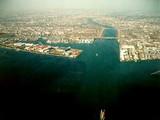 市川市江戸川放水路河口市川大橋
