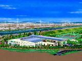 市川市クリーンセンター・概観パース010