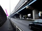 20071229-船橋市日の出・首都高湾岸線・交通事故-1600-DSC02032