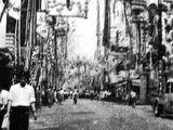 1958年(昭和33年)07月:船橋市・山口通り・七夕まつり-DSC01292V