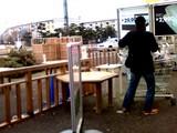 20090118_IKEA船橋_生クリスマスツリー_返却_1251_SN3F0004T