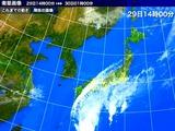 20101029_1400_気象_台風14号_チャバ_衛星写真_010