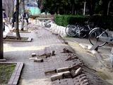 20110320_東日本大震災_幕張新都心_歩道_NTT回線_1228_DSC08257