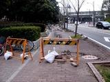 20110320_東日本大震災_幕張新都心_歩道_NTT回線_1225_DSC08215