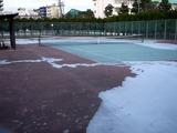 20110312_東日本巨大地震_若松公園テニス_液状化_1700_DSC09091
