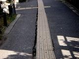 20110316_東日本大震災_船橋競馬場前_道路歪み_1047_DSC06817