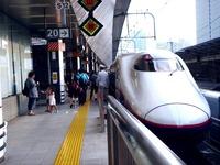 20110813_JR東北新幹線_東京駅ホーム_放射線量_1649_DSC00556