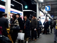 20111227_JR東京駅_八重洲口_正月_帰省_高速バス_2137_DSC07008