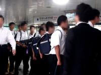 20110831_JR東京駅_新幹線_修学旅行_生徒_1237_DSC01928