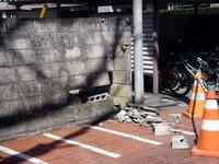 20110313_東日本大震災_袖ヶ浦団地_ブロック塀_1114_DSC09408