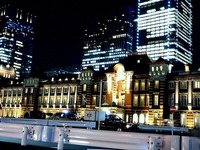20121225_JR東京駅_東京ミチテラス_東京光ビジョン_1848_DSC07551