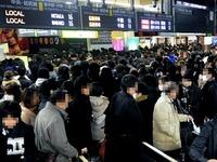20130206_JR東日本_関東圏_雪予報_間引運転決行_JR新宿駅_022