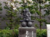 20130323_船橋市本町6_とんぼ大黒像_桜_1549_DSC07482