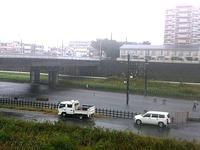 20131016_台風26号_北総線_西白井駅_冠水_022