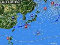 20130205_2100_関東圏_雪予報_大雪_天気図_010