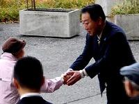 20141128_JR南船橋駅_民主党_野田佳彦元内閣総理大臣_0745_DSC00106S