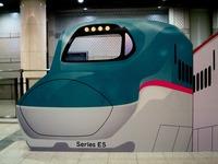 20150928_JR東日本_東京駅_新幹線_巨大顔出し看板_0720_DSC01197