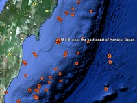 20110311_東日本大震災_マグニチュード5以上の地震_256055574T