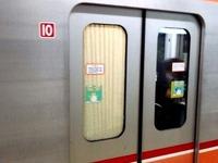 20141118日_東京メトロ_東西線_ドアガラスが割れ_042